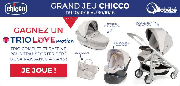 Grand Jeu Chicco Trio Love Motion