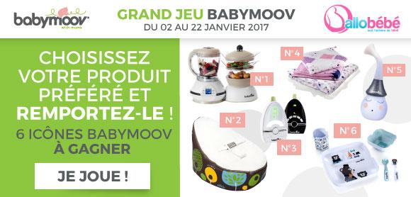 Grand Jeu : 6 produits stars Babymoov à gagner !